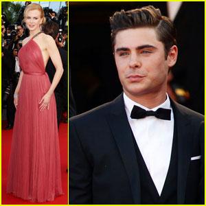 Nicole Kidman & Zac Efron: 'Paperboy' Cannes Premiere!