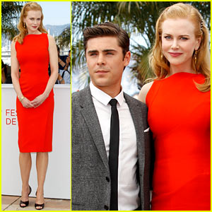 Nicole Kidman & Zac Efron: 'Paperboy' Photo Call!