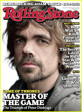 Peter Dinklage Covers 'Rolling Stone' May 2012!