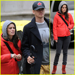 Rachel Bilson & Hayden Christensen: Soho Stroll