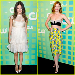 Rachel Bilson & Jaime King: CW Upfront!