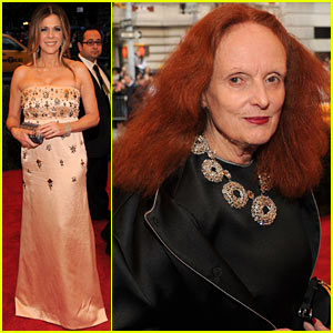 Rita Wilson & Grace Coddington - Met Ball 2012