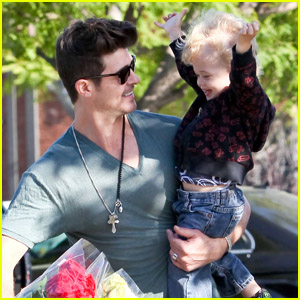 Robin Thicke &#038; Julian: Bristol Farms Boys!