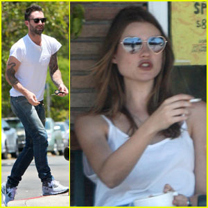 Adam Levine &#038; Behati Prinsloo: New Couple Alert!