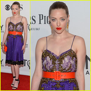 Amanda Seyfried - Tony Awards 2012 Red Carpet