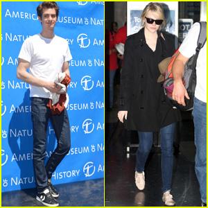 Emma Stone & Andrew Garfield: Dual Coast 'Spider-Man' Promos!