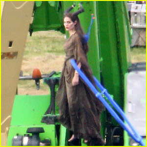 Angelina Jolie: 'Maleficent' Stunts!