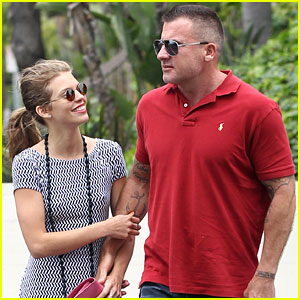 annalynne mccord cheesecake factory AnnaLynne McCord & Dominic Purcell: Cheesecake Factory Lunch!