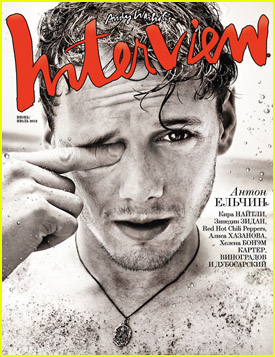 Anton Yelchin Covers 'Interview' Russia
