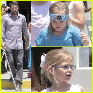 Ben Affleck: Country Mart with Violet & Seraphina