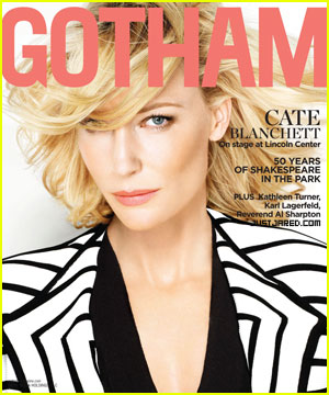 Cate Blanchett Covers 'Gotham' Summer 2012