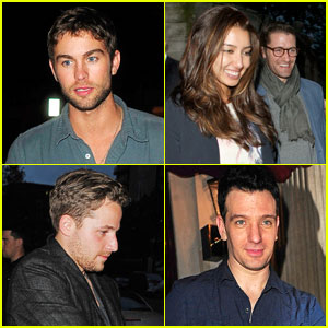 Chace Crawford & Matthew Morrison: Mayfair Men