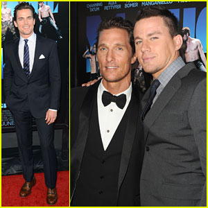 Channing Tatum: 'Magic Mike' Premiere