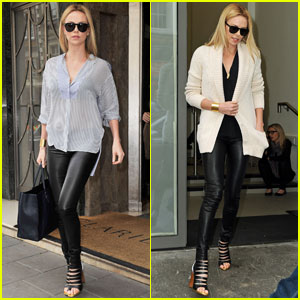 Charlize Theron Is 'Very Excited' About 'Mad Max'