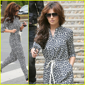 Cheryl Cole: Sightseeing in Paris!