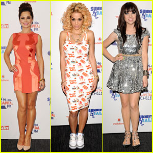Cheryl Cole & Rita Ora: Summertime Ball Babes!