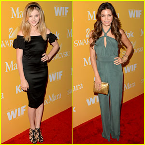 Chloe Moretz & Jenna Dewan: Women in Film Awards!