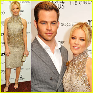Chris Pine & Elizabeth Banks: 'People Like Us' Screening!