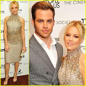Chris Pine & Elizabeth Banks: 'People Like Us' Screening!