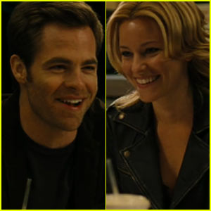 Chris Pine & Elizabeth Banks: 'People Like Us' Clip - Exclusive!