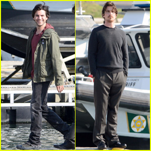 Christian Bale & Wes Bentley: 'Knight of Cups' at the Dock