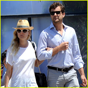 Diane Kruger & Joshua Jackson: Shopping & Kings Game!