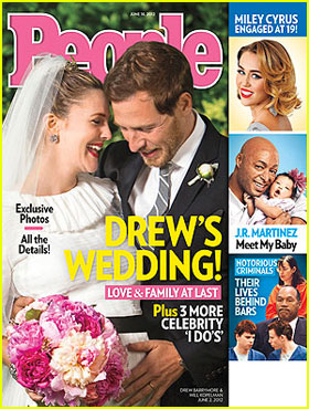 Drew Barrymore: Wedding Picture with Will Kopelman!