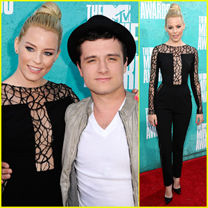 Elizabeth Banks: Jumpsuit at MTV Movie Awards 2012!