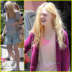 Elle Fanning is a