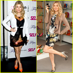 Fergie: 'Self' Magazine Launch Party!