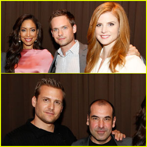 Gabriel Macht & Patrick J. Adams: 'Suits' Screening!
