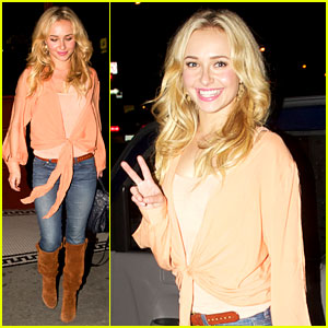 Hayden Panettiere: Peace Out, Pikey Bar!