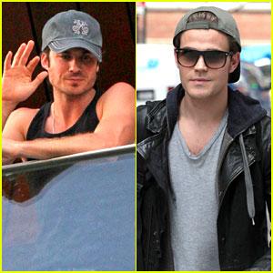 Ian Somerhalder & Paul Wesley: 'Vampire Diaries' Spoilers!