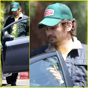 James Franco Visits Amanda Seyfriend's House?