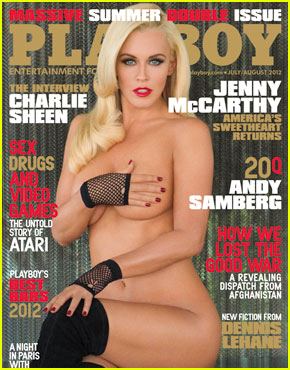 Jenny McCarthy: 'Playboy' Cover at 39!