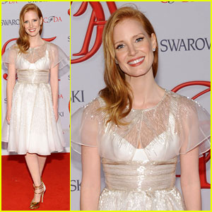Jessica Chastain - CFDA Fashion Awards 2012