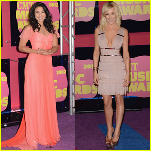 Kellie Pickler & Jordin Sparks - CMT Music Awards 2012