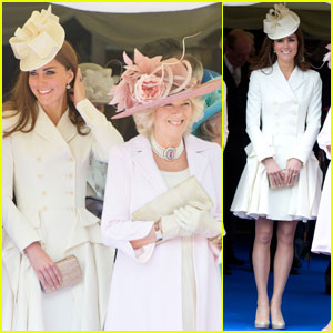 Duchess Kate: Order of Garter Service with Queen Elizabeth!