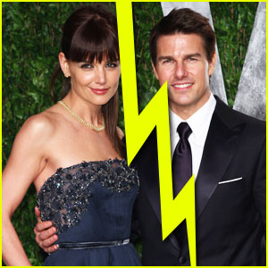 Katie Holmes   Cruise Split on Tom Cruise And Katie Holmes Are Getting A Divorce