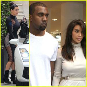 Kim Kardashian & Kanye West: Lamborghini Lovers