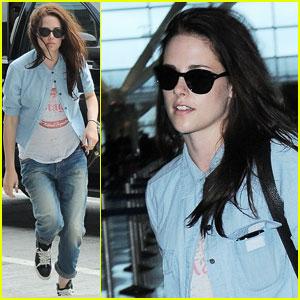 Kristen Stewart Quits Smoking, Learns French