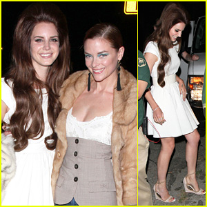 Lana Del Rey &#038; Jaime King: El Rey Twosome!