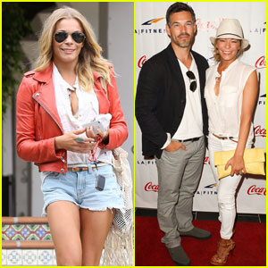 LeAnn Rimes: 'LA Fitness Grand Opening' with Eddie Cibrian!