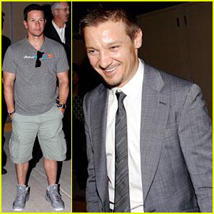 Mark Wahlberg & Jeremy Renner: Pacquiao vs. Bradley Fight!