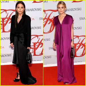 Mary-Kate & Ashley Olsen - CFDA Fashion Awards 2012