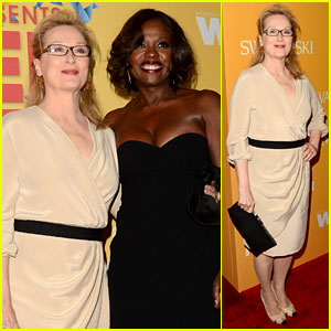 Meryl Streep & Viola Davis: Women in Film Awards!