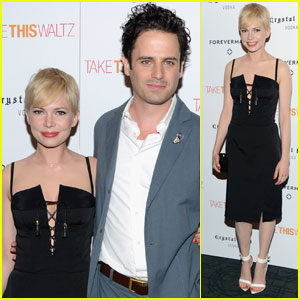 Michelle Williams: 'Take This Waltz' NYC Screening!