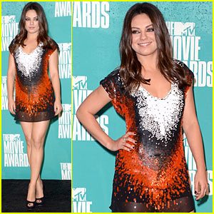 Mila Kunis - MTV Movie Awards with Mark Wahlberg!
