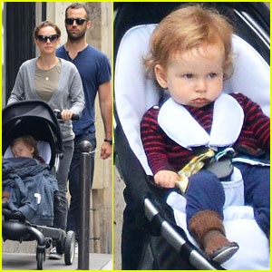 Natalie Portman & Benjamin Millepied: France with the Family!