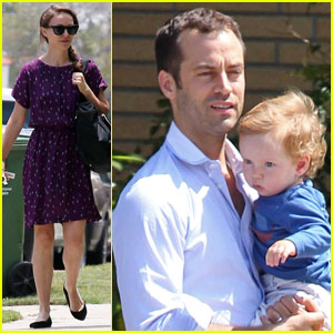 Natalie Portman: Birthday Stroll with Aleph!